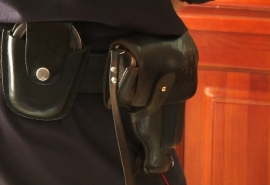 Подведены итоги голосования по фотографии «Леди омская полиция»