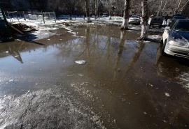 Названы участки и улицы Омска, которые весной может подтопить