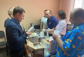 Президент Фонда Манякина Степан Бонковский продолжает поддержку медучреждений региона