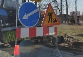 В центре Омска на три месяца перекроют две дороги