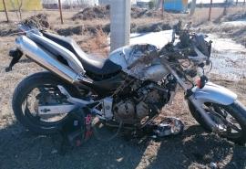 Омич, разбивший дорогостоящий мотоцикл, оказался многодетным банкротом с долгами