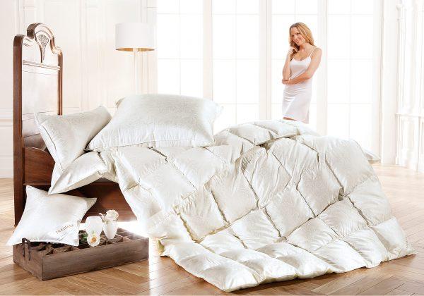 Одеяла из пуха в Москве